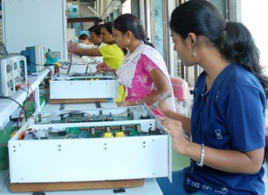women at factory