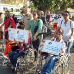 women with disability march India 1