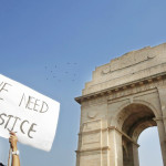 Anti rape protest India