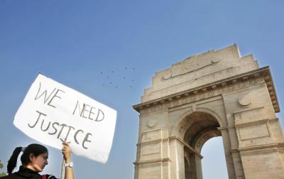 Anti rape protest India