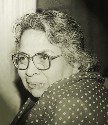Vina Mazumdar  was a great champion of participatory action research. Photo courtesy : Zubaan Books