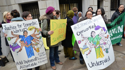 Domestic-workers-at-NY-Indian-Embassy