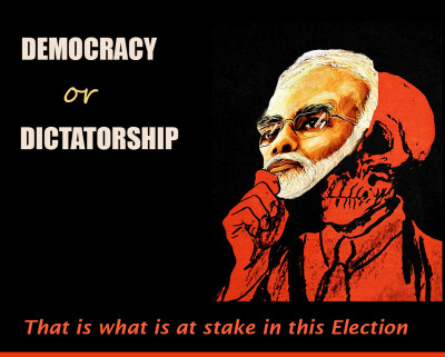 Modi- against- democracy
