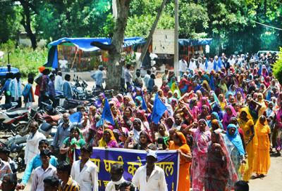 Narmada-Protest